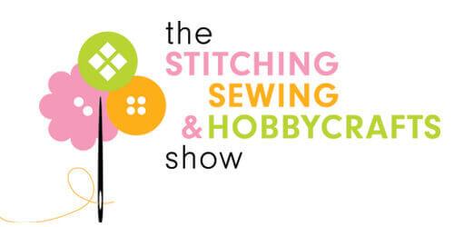 Stitching sewing and hobbycrafts logo