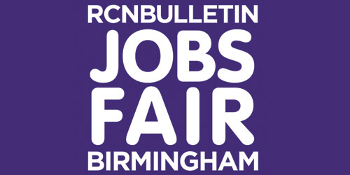 RCN Jobs fair logo