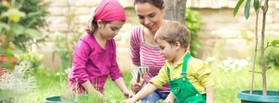 Image for Gardening with the kids